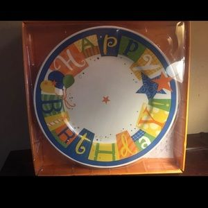 Create a new tradition! Happy Birthday Plate